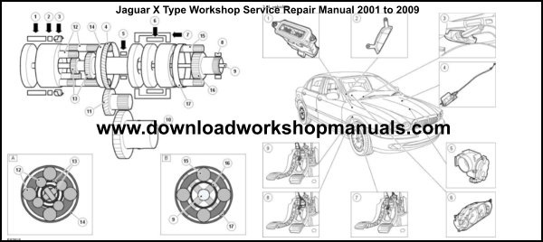 JAGUAR X-TYPE Service Repair Workshop Manual