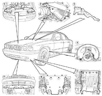 JAGUAR X350 Workshop Manual Download