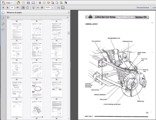 Lotus Elise Series 2 Workshop Repair Manual