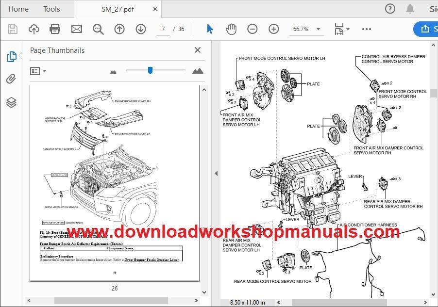 Vauxhall Mokka Workshop Repair Manual