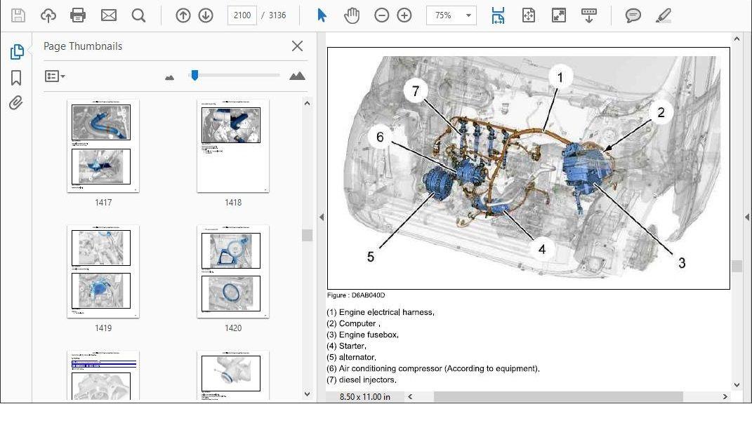 citroen ds5 workshop wiring diagram