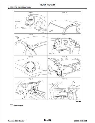 Nissan 350Z Workshop Repair Manual Download