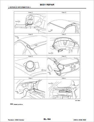 Nissan 350Z Workshop Repair Manual Download