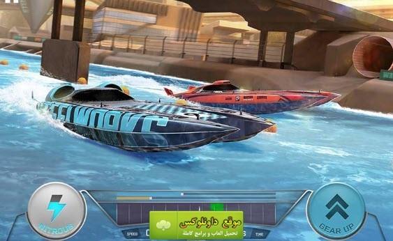 لعبة سباق القوارب للكمبيوتر