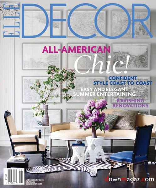 ELLE Decor JulyAugust 2010 Download PDF Magazines