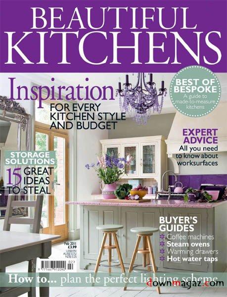 Beautiful Kitchens  February 2011  Download PDF