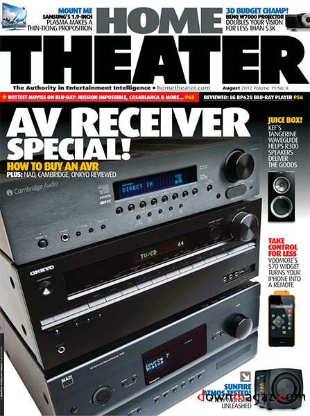 Home Theater  August 2012  Download PDF magazines  Magazines Commumity