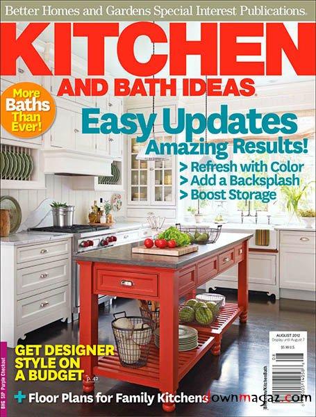 Kitchen  Bath Ideas  August 2012  Download PDF