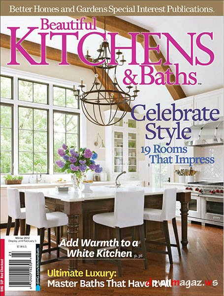 Beautiful Kitchens  Baths Magazine Winter 2012  Download