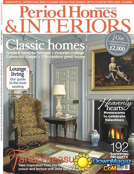 Period Homes & Interiors Magazine  February 2014