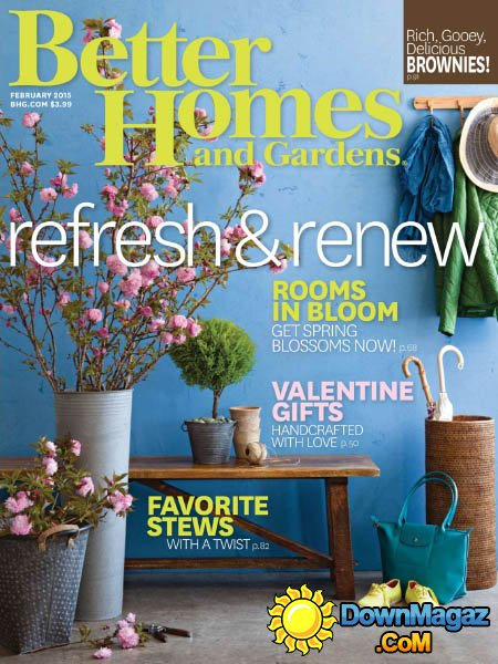 Better Homes and Gardens USA  February 2015  Download PDF magazines  Magazines Commumity