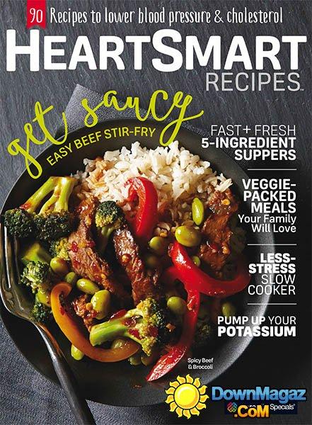 Heart-Smart Recipes 2016 » Download PDF magazines
