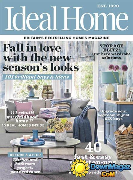 Ideal Home UK  October 2016  Download PDF magazines