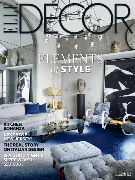 Elle Decor USA  042018  Download PDF magazines