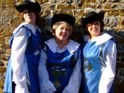 The Three Musketeers, Le Panto. I played Porthos ( and I made the outfits, and designed the programme...multitasking!!)