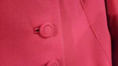 Jacket detail- love the stitching