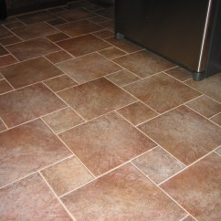 Ceramic Tile Kitchen Floor Trash Can Dimensions Down North Construction