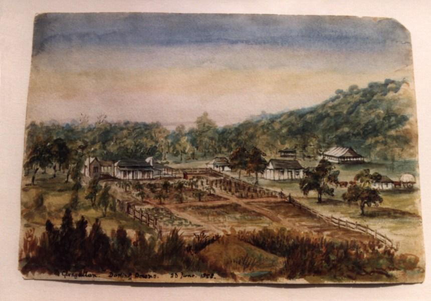Glengallan Darling Downs 23 June 1858