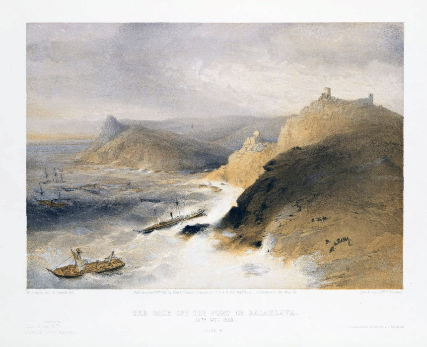 The_Gale_off_the_Port_of_Balaklava_14th_Nov_1854
