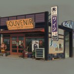 Souvenir Shop (Sunset Overdrive Concept Art)