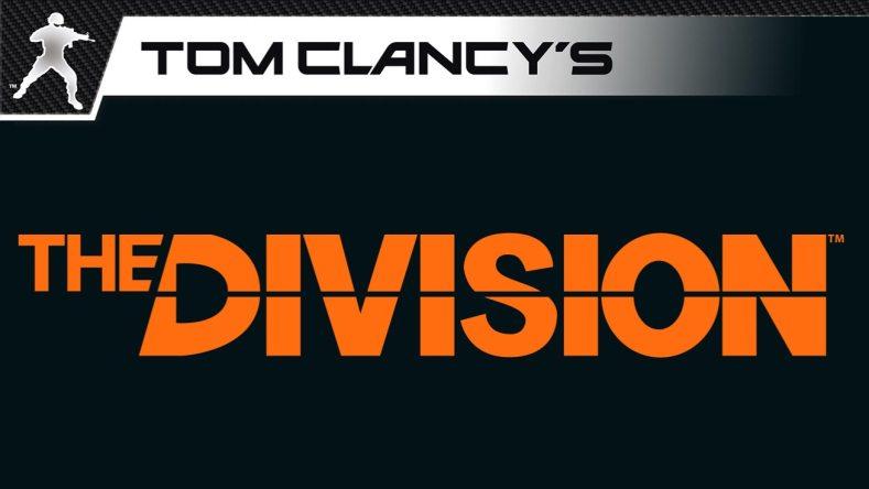 Tom Clancy's The Division - Logo Orange Black