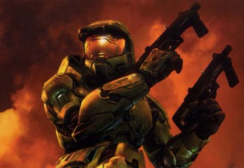 Halo 2 Master Chief Boxart Cropped