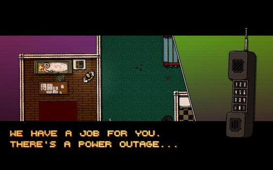 Hotline Miami - Story - Got A Job For You