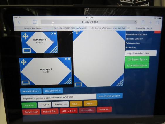 Skreens Web Configuration (PAX East 2015)