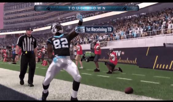 cotchery-selfie-touchdown-panthers-super-bowl-50