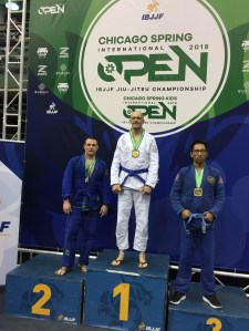 Shawn silver medal at the Chicago Open