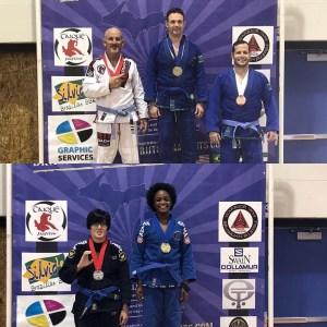 Downriver Jiu Jitsu Adult Michigan Open winners