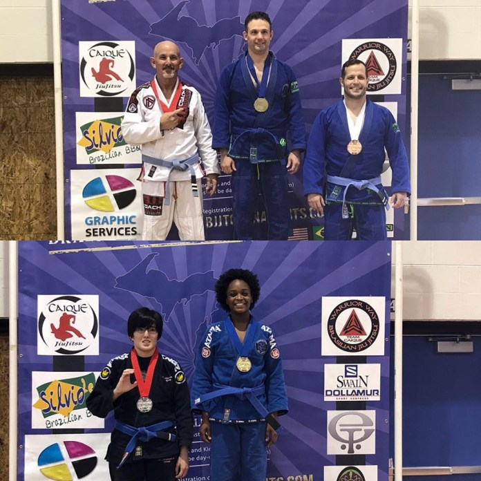 Downriver Jiu Jitsu Adult Michigan Open winners