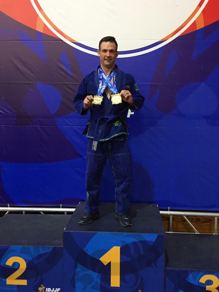 Shane taking double gold home for DRBJJ