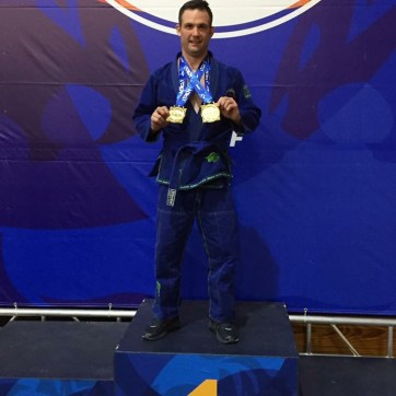 Shane taking double gold home for DRBJJ