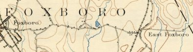 Detail, Foxboro Map