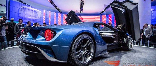 2016 Ford GT at the 2015 Detroit Auto Show - Our Top 10 Picks