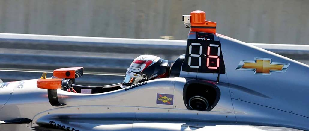 2019 Indy Car LED Back