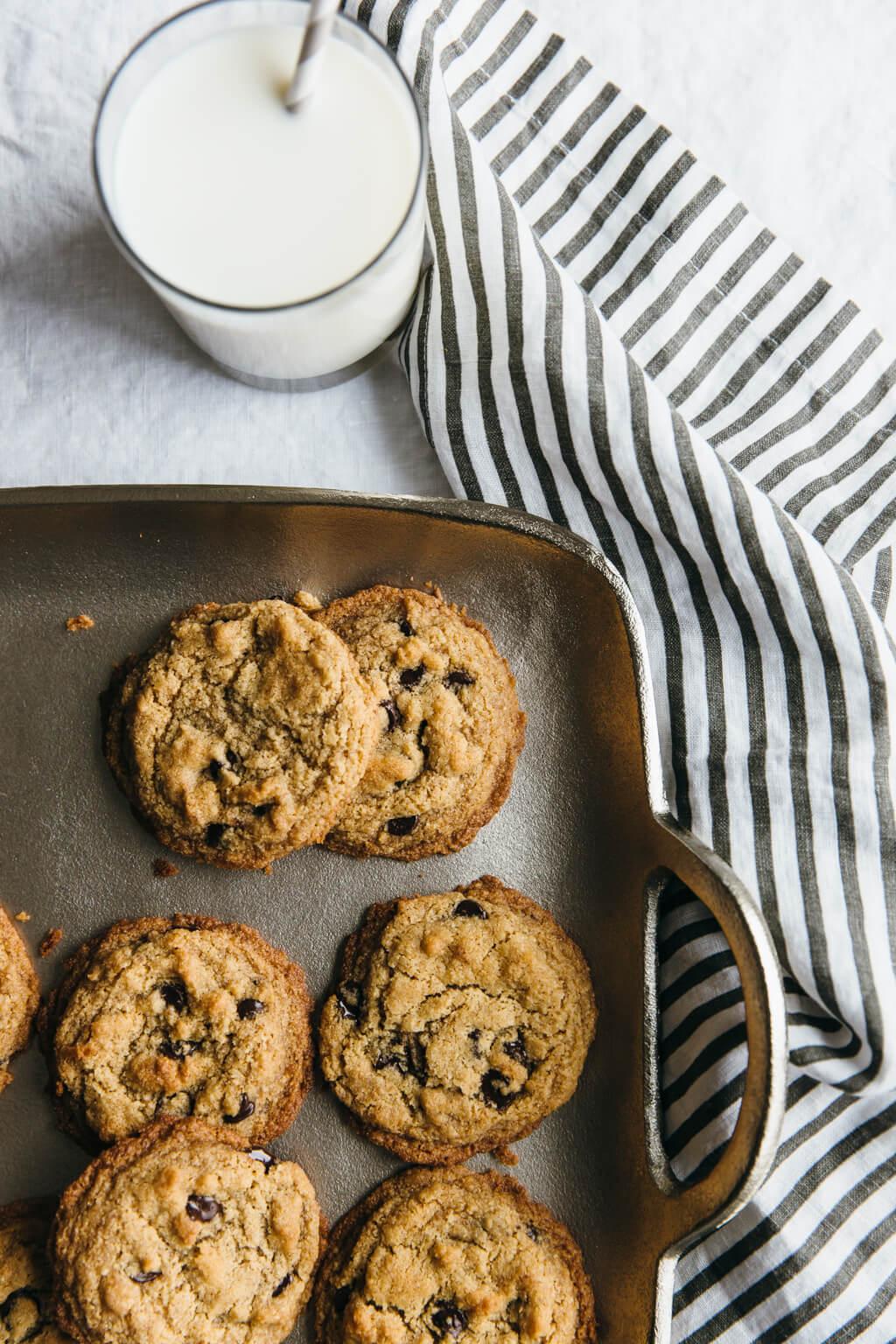 The Best Chocolate Chip Cookies Paleo Vegan Gluten Free