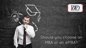 should i choose an mba or an emba