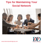 Tips for Maintaining Your Social Network