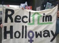 Reclaim Holloway Demo May 2015