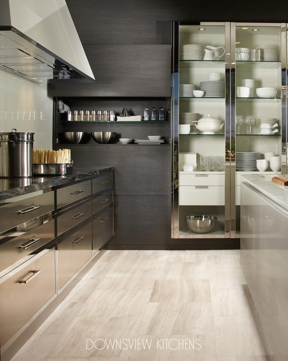 Ss Countertops Modern Reflections - Downsview Kitchens And Fine Custom