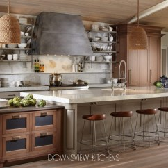 Kitchens With Islands Undermount Kitchen Sink Installation A Gathering Place - Downsview And Fine Custom ...