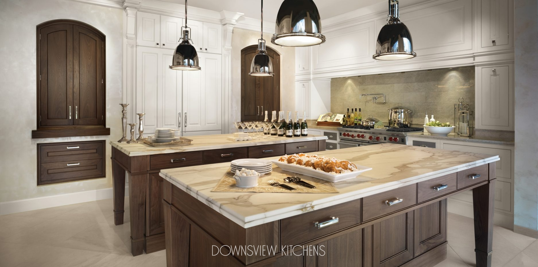 TALE OF TWO ISLANDS  Downsview Kitchens and Fine Custom