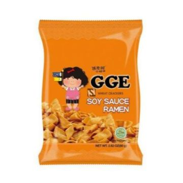 GGE Wheat Crackers Soy Sauce Flavor