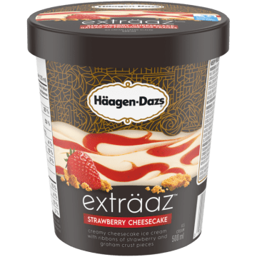Haagen Dazs Extraaz Strawberry Cheesecake