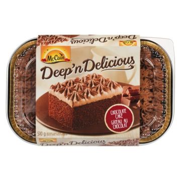 McCain Deep'N Delicious Chocolate Cake Frozen Cake