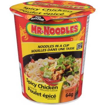 Mr noodle in Cup Spicy Chicken