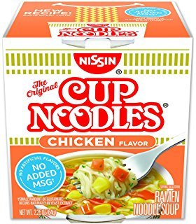 Nissin Cup Noodle Chicken