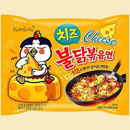 Samyang Hot Chicken Flavor Ramen Cheese